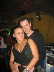 Сальсера Алехандра с инструктором по salsa Алексом. Одесса.