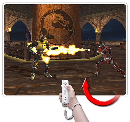 Mortal Kombat: Screens w/ Wiimote actions