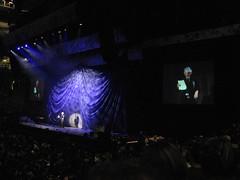 David Suzuki on stage