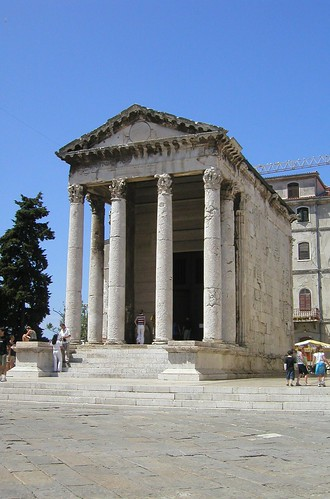 Temple of Augustus, Pula by yellow book ltd.