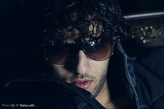 R E S T , , (Nasser Bouhadoud) Tags: portrait home canon 350d model friend mohammed rest nasser doha qatar  saher  allil