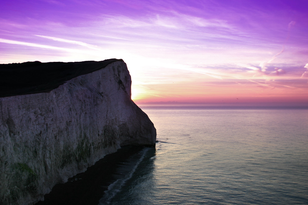 Seaford Head at Dawn
