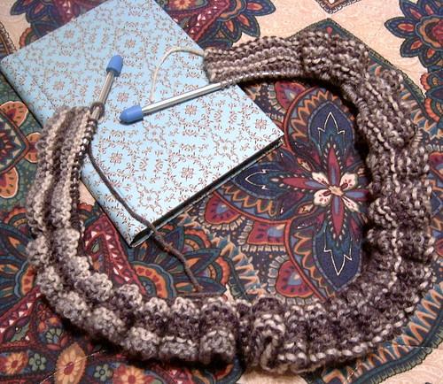 (Oddball Blanket) First Knitter - Shandeh