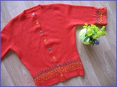 organic stripe sweater