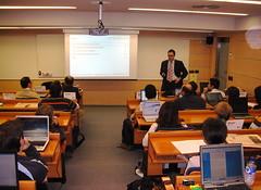 Manel, CEO de Openbravo, en el Instituto de Empresa