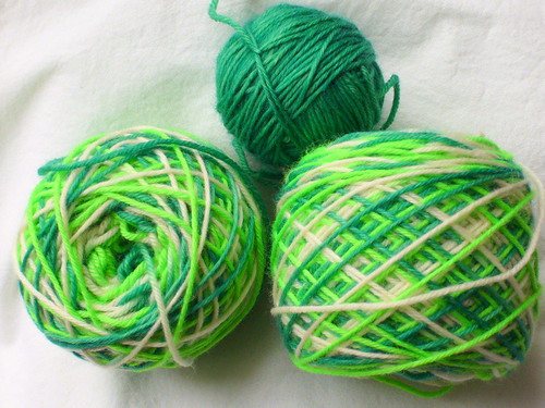 St. Patrick's Sock Yarn