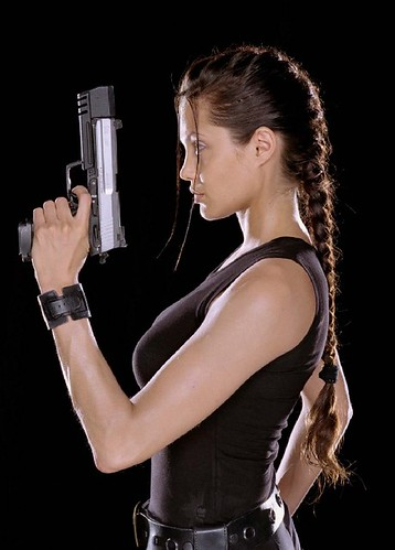 <h3>Angelina Jolie as Lara Croft in Tomb Raider and the sequel</h3>