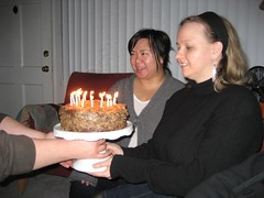 The only time of the year we have German chocolate cake. (02/11/07)