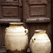 old olive oil jugs