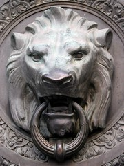 Custom House Lion Door (kresge86) Tags: sanfrancisco jacksonsquare customhouse
