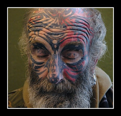 Paul Morris 2 (Brett Wilde) Tags: face sex tattoo beard crufts facetattoo puresex brettwilde