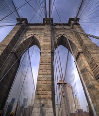 Brooklyn Bridge - by andy in nyc