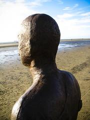 Gormley Statue (RichHumphries) Tags: beach liverpool antonygormley crosbybeach gormleystatue