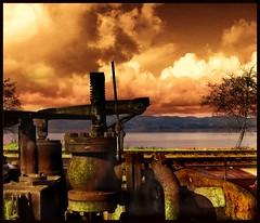rust belt (jody9) Tags: topf25 oregon rust bravo columbiariver infrared astoria blueribbonwinner flickrplatinum superbmasterpiece goldenphotographer flickrdiamond