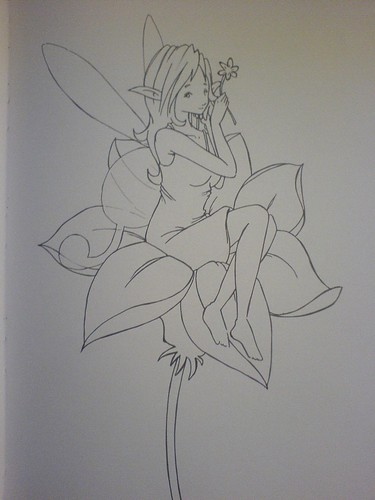 Nice Fairy Tattoo Design photos. A few nice fairy tattoo design images I