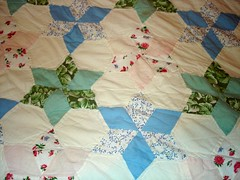 star quilt close-up