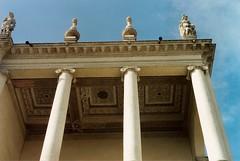 Palazzo Chiericati (sangiopanza2000) Tags: italy italia columns vicenza colonne palladio veneto soffitto sangiopanza cassettoni palazzochiericati 1flickrmeetingvicenza