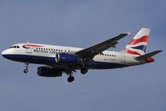 G-EUPP Airbus A319 BA Heathrow (benallsup) Tags: heathrow aviation airbus ba britishairways aeroplanes arrivals lhr a319 27l allsup geupp