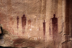 Book Cliffs Panel (bclee) Tags: utah style canyon barrier rockart bcs pictograph nikoncoolscanived