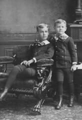 Herbert Clark Blackmer and Henry Blackmer, ca. 1887