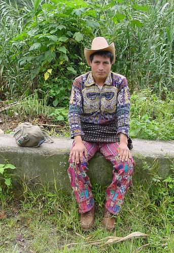 Cachikel Mayan man, Guatemala