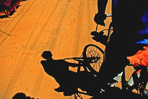 Peddling Shadows on the Street