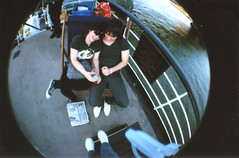 fisheye04 (alaskaespanha) Tags: street party england london boat lomo lomography phonebooth fisheye queenmary camdentown adventuresinthebeetrootfield
