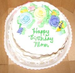 Swamette's birthday cake