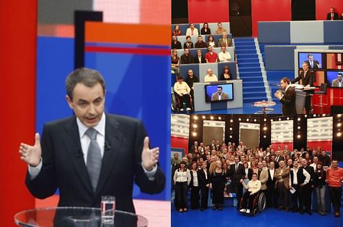 Zapatero en RTVE