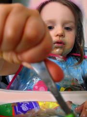 Birthday Girl (TwinTransfusion) Tags: birthday cake 2nd delicious icecream carvel