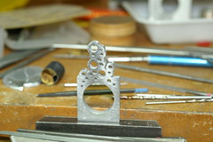 PICT2578 (jon m ryan) Tags: art silver aluminum workinprogress craft jewelry ring sterling process anodized jonryan