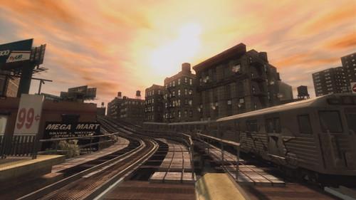 Grand Theft Auto IV tren