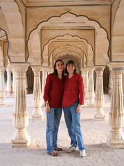 At Amber Fort