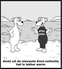 cartoon Knut mode