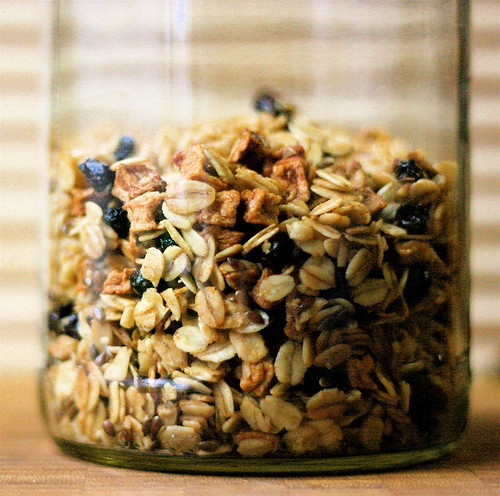 Apple, Currant and Flax Granola