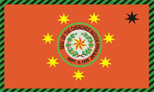 Cherokee tattoo · Cherokee Nation Flag