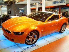 Ford Mustang Giugiaro (Davydutchy) Tags: ford autoshow exhibition topv5555 mustang topv9999 topv3333 topv4444 carshow 2007 autorai giugiaro topv8888 topv6666 topv7777 vredestein thebiggestgroup