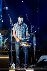 Dave on the Snare
