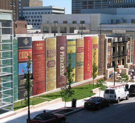 городская библиотека в Канзасе