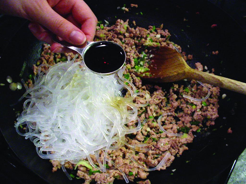 Recipe for Thai spring rolls