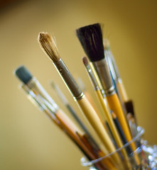 Brushes (fhansenphoto) Tags: paint brushes