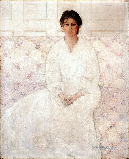 Grace Henry, Girl in White, c.1910-12
