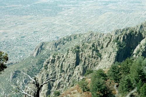 rocks on Sandias