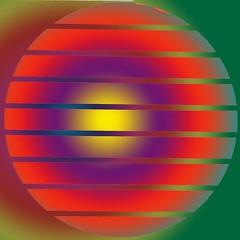 Mandala (Marco Braun) Tags: red rot yellow jaune circle square rouge amarillo gelb cercle carr  quadrat kreis opart  flavus