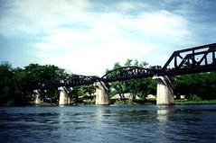 The Bridge on the River Kwai #1 (HargaiNyawa) Tags: bridge river thailand kwai