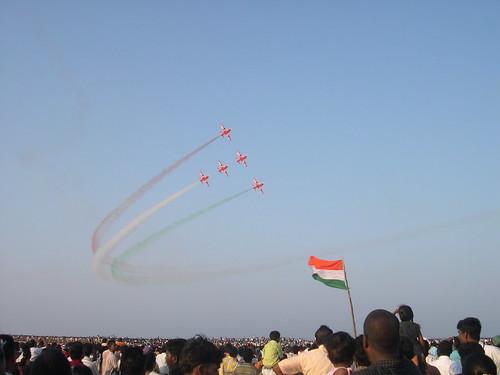 Air Show, Chennai on 22042007