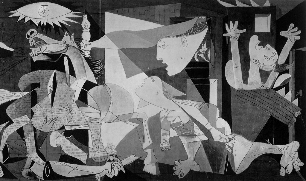 Pablo Picasso's 1937 oil on canvas painting, Guernica