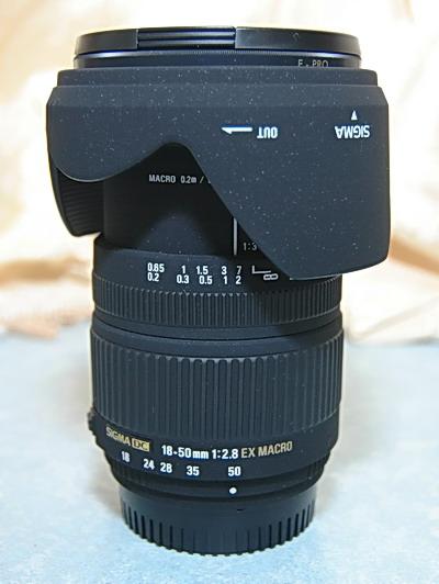Sigma 18-50 mm F2.8 Macro03