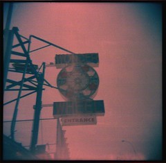 Hazy Wonder Wheel (Squid Ink) Tags: newyorkcity brooklyn coneyisland holga gothamist wonderwheel
