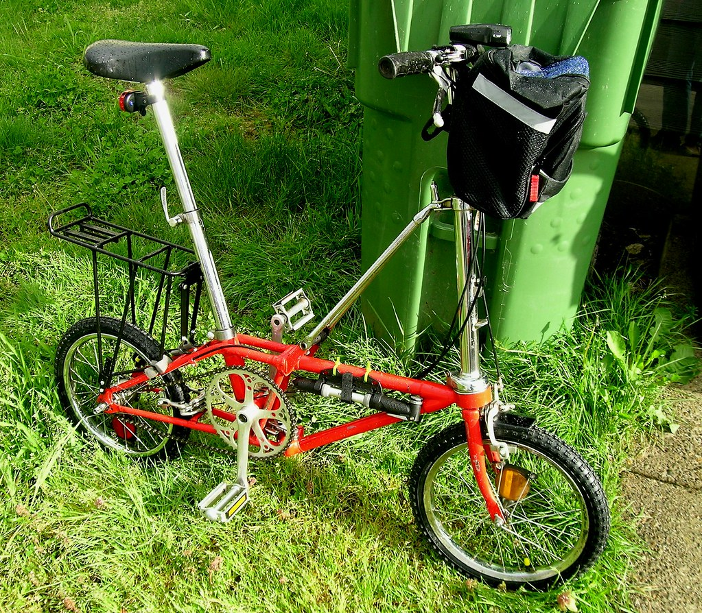 Updated DaHon Folding bike-my commuter
